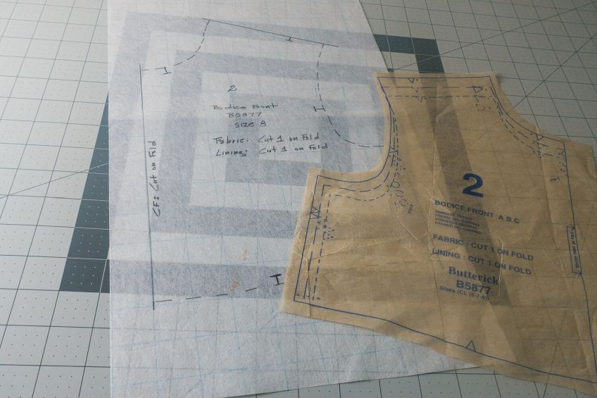 How to Duplicate a Sewing Pattern