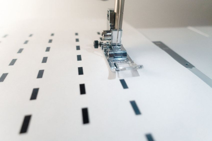 How to Sew Straight Lines - Let's Practice